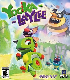 Yooka-Laylee: Digital Deluxe Edition [update 1] (2017) PC | Steam-Rip от Let'sРlay