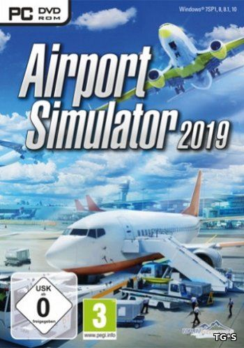 Airport Simulator 2019 [ENG] (2018) PC | Лицензия