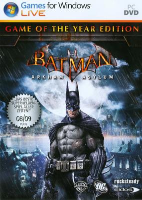 Batman: Arkham Asylum Game of the Year Edition (Профессиональный/Новый Диск) (Текст/Звук)