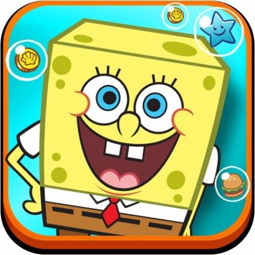 Губка Боб: мой Бикини Боттом / SpongeBob Moves In [iOS 4.3, RUS]