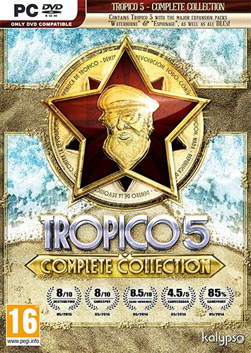 Tropico 5. Complete Collection [RePack] [2016|Rus|Eng|Multi6]