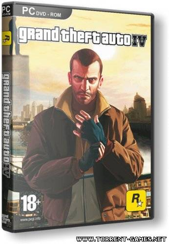 GTA 4 / Grand Theft Auto IV (2008) Rus [Repack]