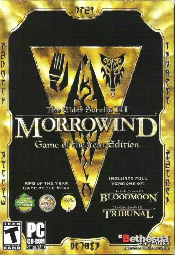 The Elder Scrolls III: Morrowind Game of the Year Edition (2002) [ENG][L] GOG