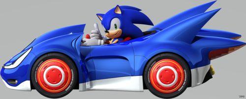 Sega тизерит новую гоночную игру Sonic