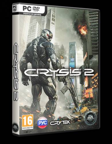 Crysis 2 [v.1.8-1DVD5+CD] (Electronic Arts) (RUS/ENG) [RePack] -Ultra-