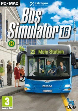 Bus Simulator 16: Gold Edition [v 1.0.0.953.7721 + DLCs] (2016) PC | RePack от Valdeni