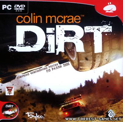 Colin McRae: DiRT (Издатель Buka) (2007)