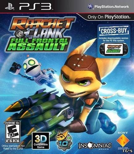 Ratchet & Clank: QForce (2012) PS3 by tg