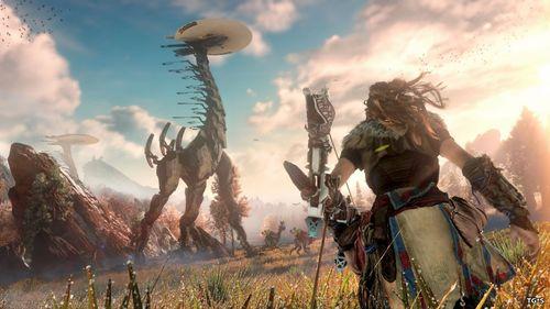 Horizon Zero Dawn станет самой красивой игрой с открытым миром на ps4