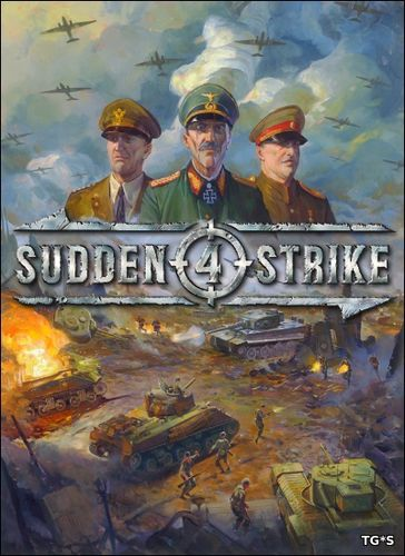 Sudden Strike 4 [v 1.04.20325 + 2 DLC] (2017) PC | Лицензия GOG