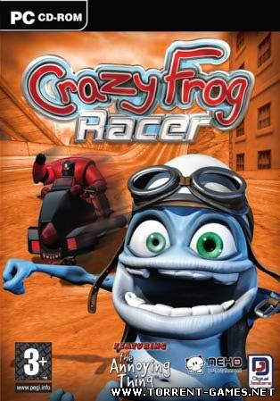 Crazy Frog Racer (2005) PC