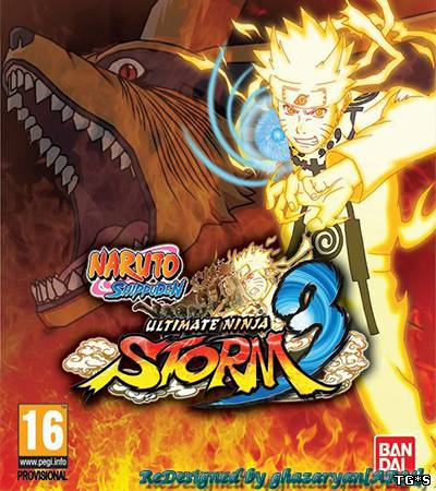 Naruto Shippuden Ultimate Ninja Storm 3 Full Burst (2013/PC/RePack/Rus) by Let'sРlay