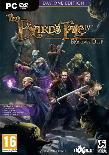 Патч Update 1 The Bard's Tale IV: Barrows Deep (2018) PC