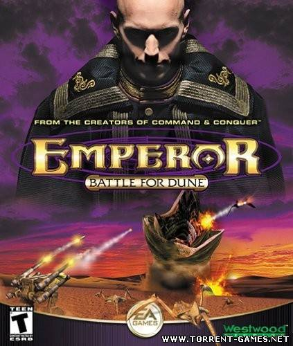 Император: Битва за Дюну \ Emperor: Battle for Dune (2001) [ENG] [RUS] [RUSSOUND] [P]