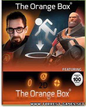 Half-Life 2D: The Orange Box [Half-Life 2D, Counter-Strike 2D, Team Fortress 2D, Left 4 Dead 2D, Portal 2D, Garry's Mod 2D, TeeWorlds, etc.