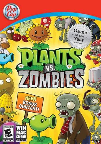 Plants vs. Zombies: GOTY Edition [v1.2.0.1095] (2009) PC | RePack by GAMER