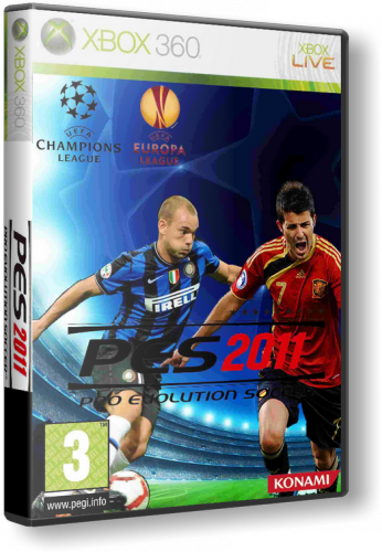 [Xbox 360] Pro Evolution Soccer 2011 [PAL] [RUS] (2010)