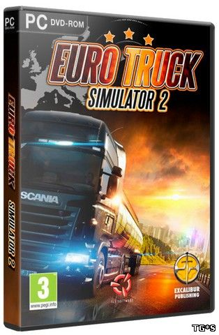 Euro Truck Simulator 2 [v 1.24.2.2s + 37 DLC] (2013) PC | RePack от xatab