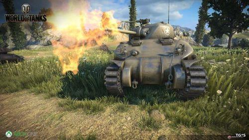 World of Tanks выходит теперь и на Xbox One X + новый трейлер игры