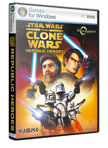 Star Wars: The Clone Wars Republic Heroes (2009) PC | RePack с R.G. Механики