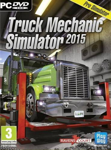 Truck Mechanic Simulator 2015 (Ravenscourt) (ENG/MULTi5) [L] - SKIDROW
