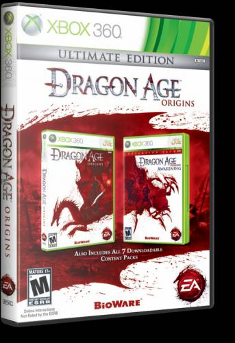 Dragon Age: Origins Ultimate Edition DVD2 Region FreeENG
