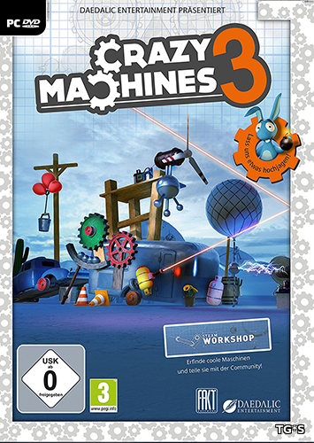 Crazy Machines 3 [v 1.2.6] (2016) PC | RePack by qoob