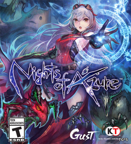 Nights of Azure [ENG / Update 1] (2017) PC | RePack by FitGirl
