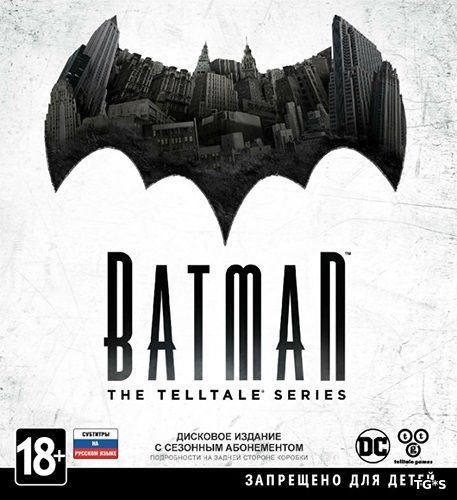 Batman: The Telltale Series - Episode 1-5 (2016) PC | RePack by FitGirl