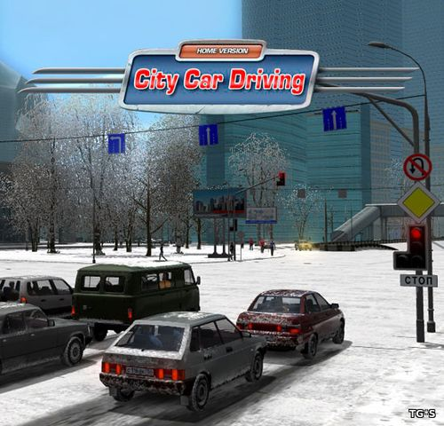 City Car Driving [v 1.5.5] (2016) PC | RePack by MAXSEM