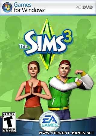 The Sims 3 + Мир приключений + Современная роскошь (2009) PC