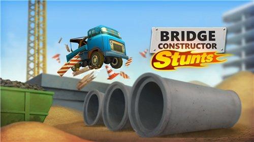 Bridge Constructor Stunts [v1.3 + Mod] (2015) Android