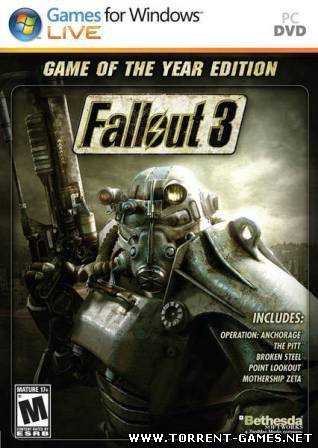 Fallout 3 - Game of the Year edition (2009) RePack