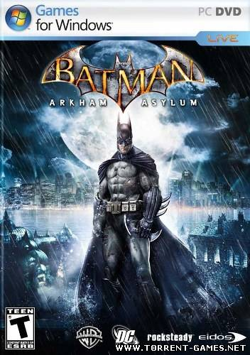 Batman: Arkham Asylum - Game of the Year Edition [+2 DLC] (2010) PC | RePack by FitGirl