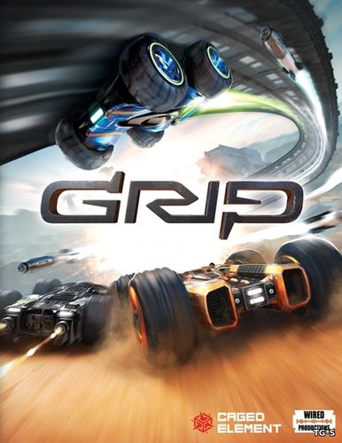 GRIP: Combat Racing [v 1.3.0 + DLCs] (2016) PC | RePack by SpaceX