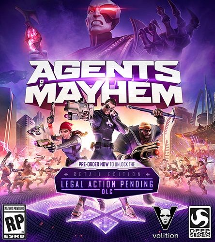 Agents of Mayhem [v 1.06 + DLC's] (2017) PC | RePack by xatab