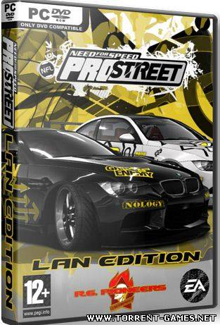 Need For Speed ProStreet Lan Edition (2007) RePack