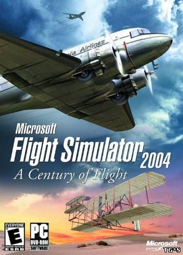 Microsoft Flight Simulator 2004 - A Century of Flight (2004) PC | RePack от R.G. Catalyst