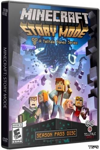 Minecraft: Story Mode - A Telltale Games Series. Episode 1-7 (2015) PC | RePack от Valdeni