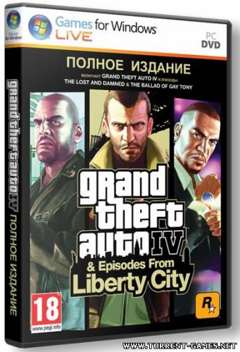 GTA 4 / Grand Theft Auto IV - Complete (TG*s) RePack