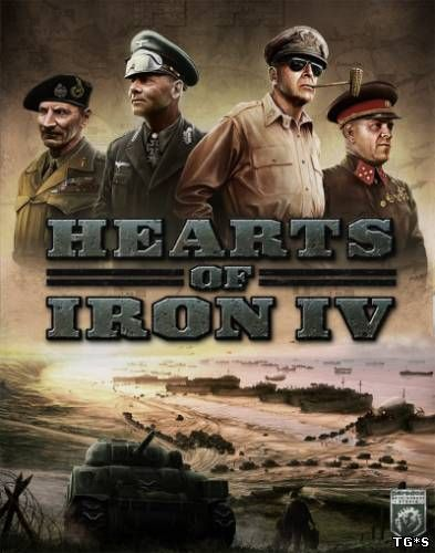 Hearts of Iron IV: Field Marshal Edition [v1.3.0.5256 + DLC] (2016) PC | RePack от BlackTea