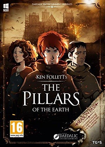 Ken Follett's The Pillars of the Earth: Book 1-2 [v1.0.551] (2017) PC | Лицензия GOG