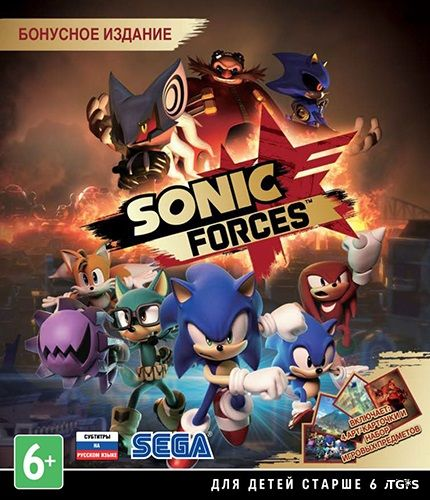 Sonic Forces [v 1.04.79 + 6 DLC] (2017) PC | Repack by R.G. Механики