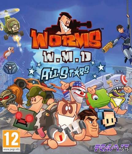 Worms W.M.D [v.1.2] (2016) PC | RePack от GAMER