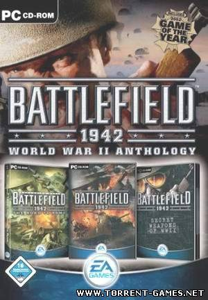 BATTLEFIELD 1942 Secret Weapons OF WWII and The Road To Rome 3 в 1