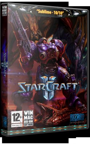 Starcraft II LAN Multiplayer Only (Blizzard Entertainment) (RUS) [Rip] от SHARINGAN