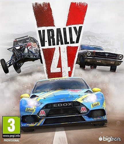 V-Rally 4: Ultimate Edition [1.0 + 3 DLC] (2018) PC | RePack by qoob