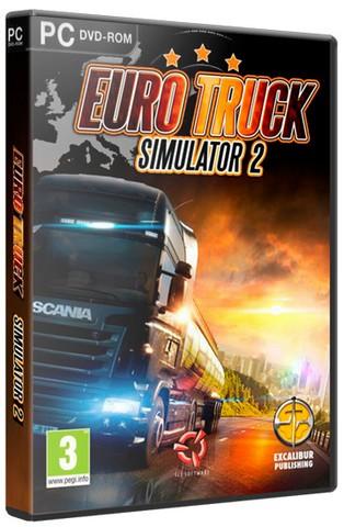 Euro Truck Simulator 2 [v 1.25.2.5s + 44 DLC] (2013) PC | RePack от Decepticon