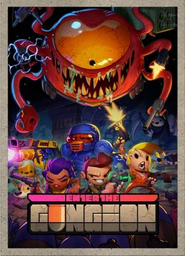 Enter The Gungeon [v 1.0.10 +DLC] (2016) PC | Лицензия