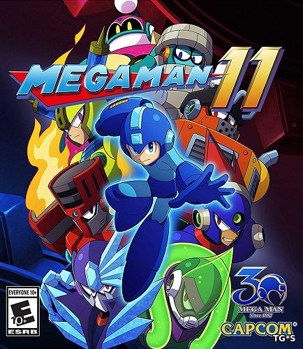 Mega Man 11 [ENG/JAP] (2018) PC | Steam-Rip by Fisher